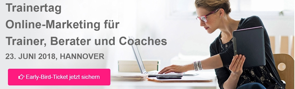 Trainertag Online-Marketing