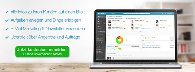 SummitCRM - CRM Tool für effizente Kundengewinnung und Email Marketing